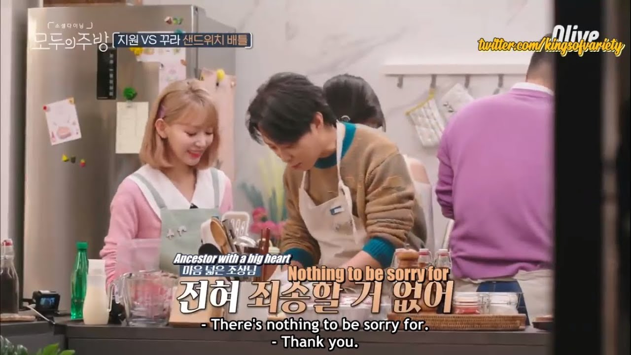 [ENG SUB/720P] Everyone's Kitchen -  Eun Jiwon and Innocent Sakura