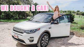 WE BOUGHT MY DREAM CAR! | LAND ROVER DISCOVERY SPORT | DITL 2020
