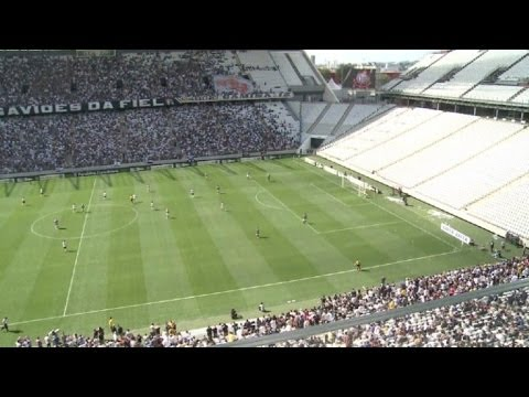 Inauguran estadio de Sao Paulo para el Mundial