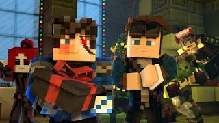 """A Christmas Special"" - Minecraft Animation (@Rainimator & @TheBlueJerome Crossover) - Part 1"