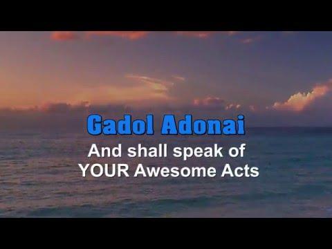 Gadol Adonai - Instrumental