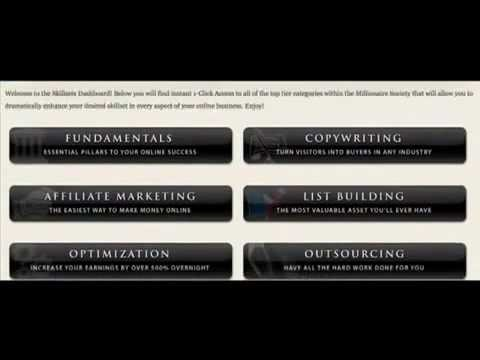 Millionaire Society Members Area | Mack Michaels's System To Generate Unlimited Income