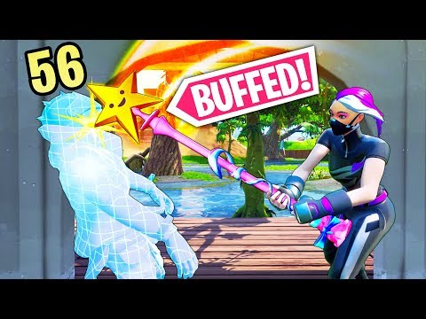 *NEW* BUFFED PICKAXE One Hit 56 Dmg!! - Fortnite Funny WTF Fails and Daily Best Moments Ep.1355