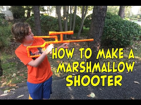 How To Make Pvc Marshmallow Shooter