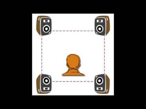 EV-4 Quadraphonic / QS Quadraphonic Test - Electronic Whirlpool (HQ Audio)