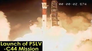 ISRO Successfully Launches Military Satellite Microsat-R | PSLV-C44 Launch Mission