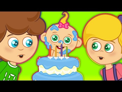 Doğum Günü Şarkısı | Mutlu Yıllar | Sevimli Dostlar | Çocuk Şarkıları 2016 | Adisebaba TV