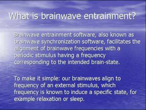 BRAINWAVE ENTRAINMENT: brainwave entrainment software download