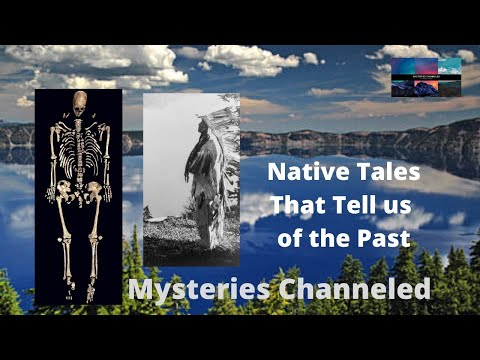 Native American Legend That Tells The Past