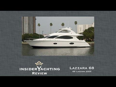 Motor Yacht Lazzara 68 Review - 68' Lazzara Yacht