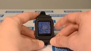 Обзор: Часы-шпаргалка Diswatch