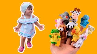 Finger Family Song - Animals Finger Family Nursery Rhymes & Songs for Kids - Learn Animals Sounds