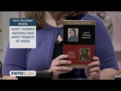 9458_SAINT THOMAS AQUINAS AND SAINT FRANCIS OF ASSISI
