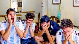 Download Video Brasil 1 Argentina 0 | Reacciones de Amigos | Partido Internacional MP3 3GP MP4