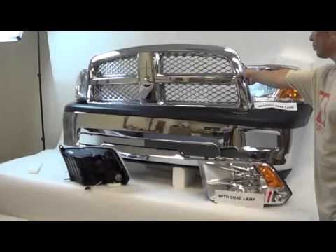 Dodge Ram 1500 Front Bumper