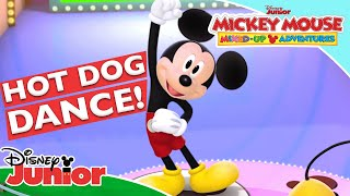 🌭 NEW Hot Dog Dance! | Mickey Mouse Mixed-Up Adventures | Disney Junior UK
