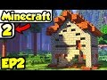 Minecraft 2 Let's Play | Cozy First House Build (Modded Survival 2)