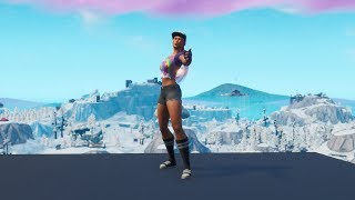 "Playing with the Skin ""Beach Bomber"" - Fortnite (Resubido)"