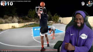 I BROKE HIS ANKLES! WE ALMOST FOUGHT! PHYSICAL 1V1 BASKETBALL AGAINST KENNY!