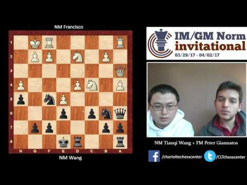 Round 2: NM Tianqi Wang's Win Over NM Francisco