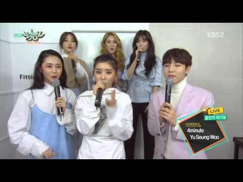 4Minute interview music bank