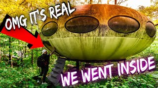 Real UFO house found in the mountains (WE GOT INSIDE)