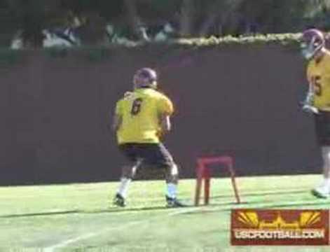 USC quarterbacks for Sprint 2008
