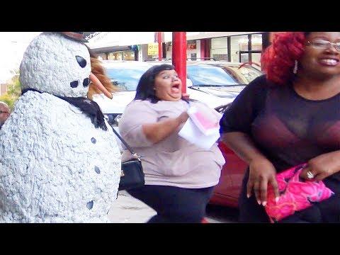 Scary Snowman Pranks Philadelphia Pennsylvania (2017) Episode 4