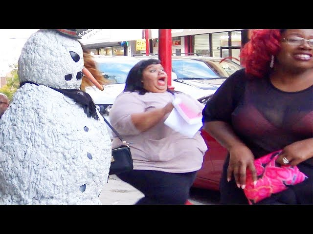 Scary Snowman Pranks Philadelphia Pennsylvania (2017) Episode 4