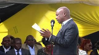 Gideon Moi's full speech during Grace Kipchoim burial
