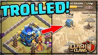 TRAPPED and TROLLED! 5v5 Clan War in Clash of Clans