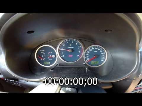 Subaru Impreza WRX STi MY03 0-100