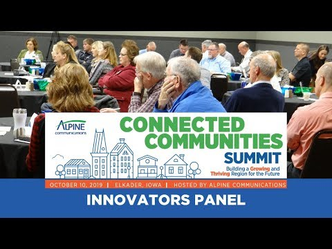 Connected Community Summit Innovators Panel 2019