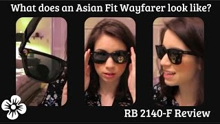 What is the Ray Ban 2140F Asian Fit? How is it different from the original?(Hi everyone! Just a short video showing you what the RB 2140-F or the Asian Fit Wayfarer looks like and what the main differences are. I also try them on, ..., 2016-01-20T07:42:34.000Z)
