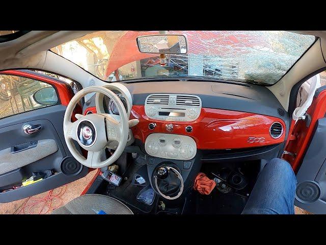 Montando Salpicadero y Airbags | Parte 4 | Fiat 500 | La Bola roja