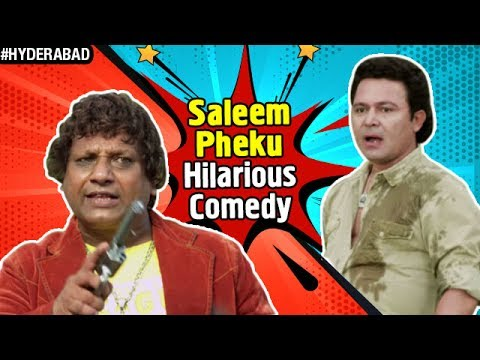 Hyderabadi Comedy Videos | Saleem Pheku Comedy | Paisa Potti Problem Movie  | Hindi Comedy Scenes