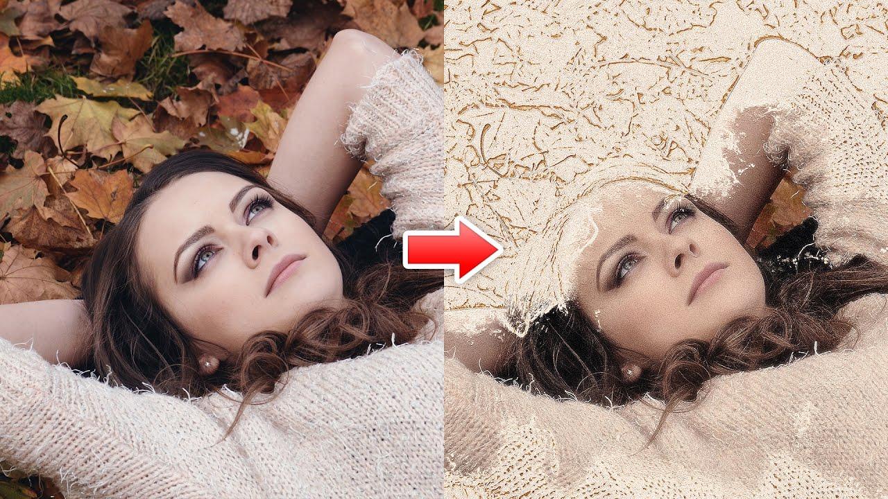 Smudge Effect Photoshop Action