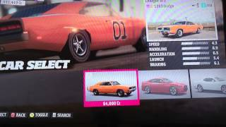 Forza horizon how to make a general lee