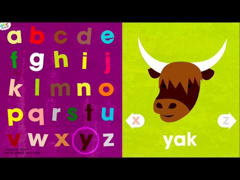 Alphabet Song & A-Z Flashcards App for Kids