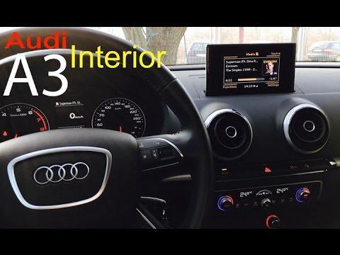 Audi A3 Sportback 2014 Interior Youtube
