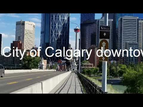 City Of Calgary Downtown.