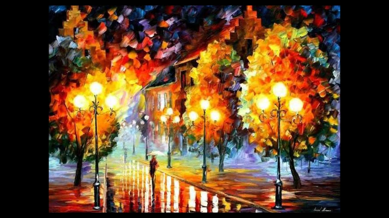 leonid afremov paintings no1 cover by elton john we all fall in love sometime youtube