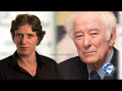 Seamus Heaney - Digging - Poetry Lecture and Analysis by Dr.