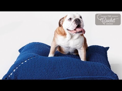 Crochet Easy Pet Bed