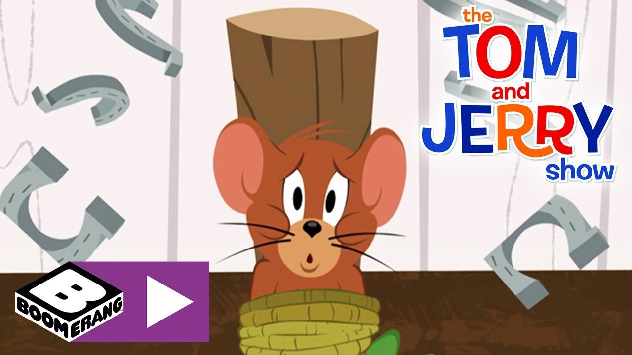 Die Tom Und Jerry Show Partyspiele Boomerang Youtube