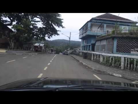 Sao Tome and Principe. Heading to Porto Alegre from Sao Tome. Part 1