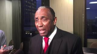 Johnny Rodgers at Outland Trophy reception 1/11/17