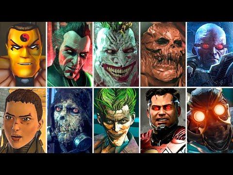 Evolution of Final Bosses in Batman Games (1998-2021) Gameplay 4K 60FPS ULTRA HD  