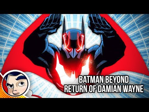 Batman Beyond 'Where is Damian Wayne? Bruce's Son.' - Rebirth Complete Story