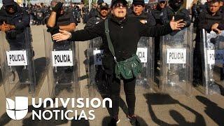 Realizan marcha en Ciudad de México en contra de Peña Nieto y el gasolinazo